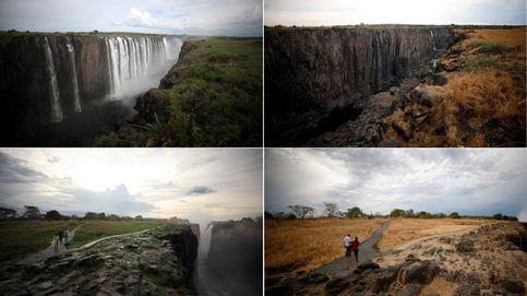 Las Cataratas Victoria se quedan sin agua: ¿se han secado para siempre?