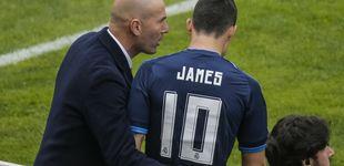 Post de El problema de Zidane es tener una plantilla llena de alternativas en ataque