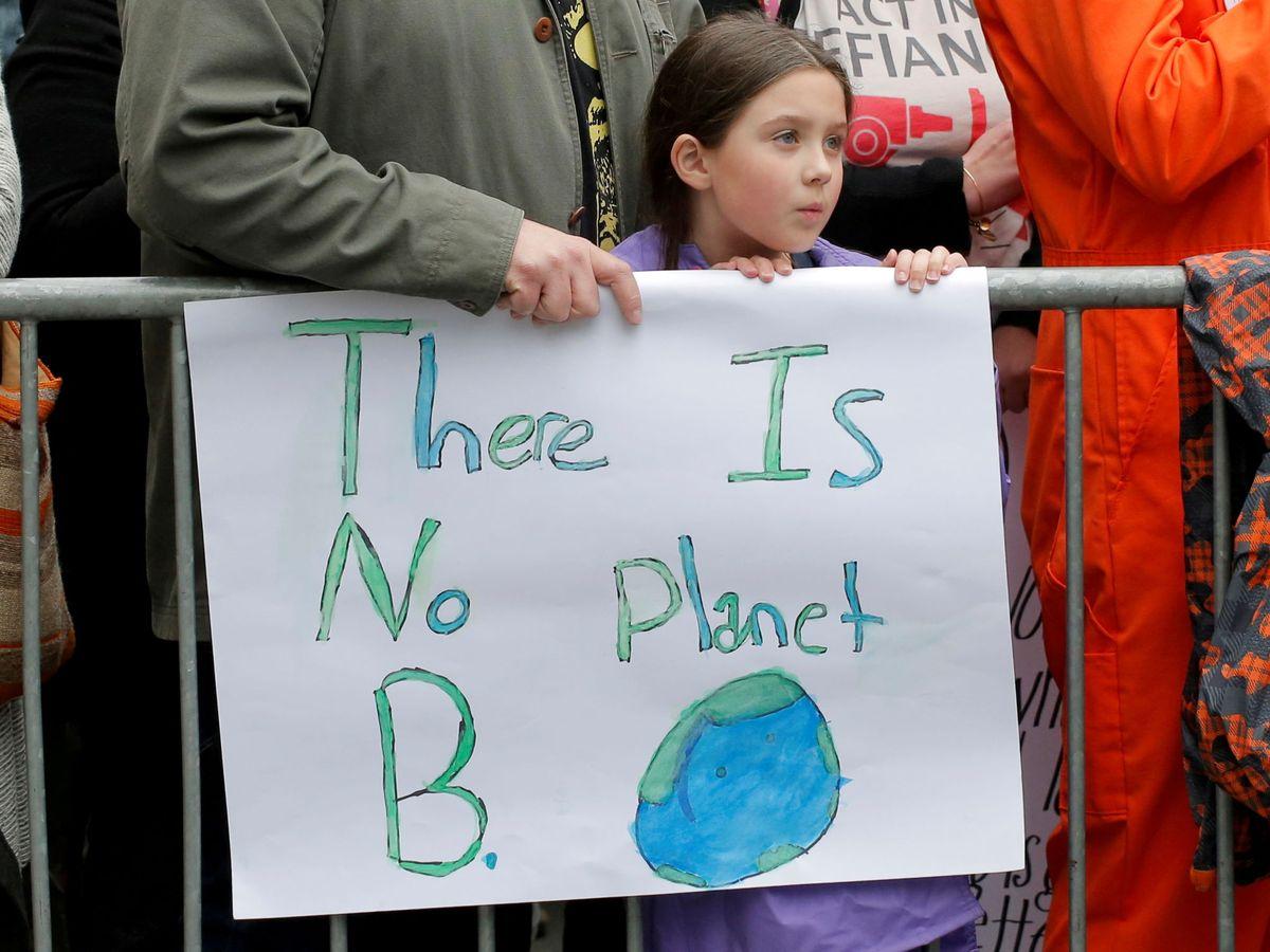 Zdjęcie: Obchody Dnia Ziemi w Central Parku w Nowym Jorku (Reuters)