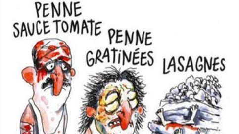 Italia se indigna con 'Charlie Hebdo' por una viñeta sobre el terremoto