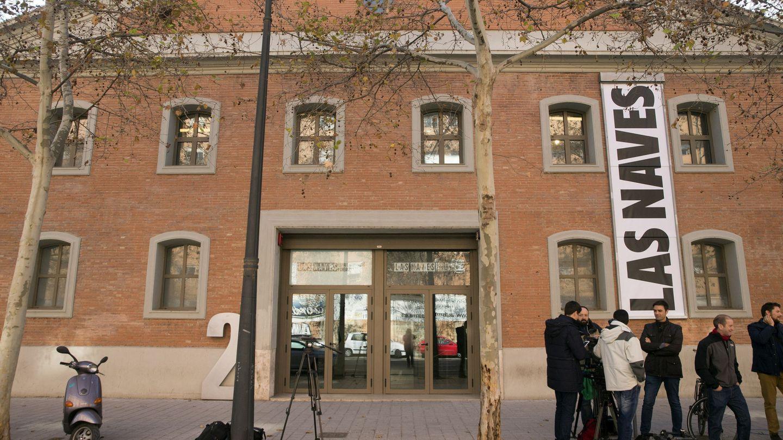 Fachada de la antigua Fundación Inndea, que agentes de la UCO registraron por financiación ilegal del PP.