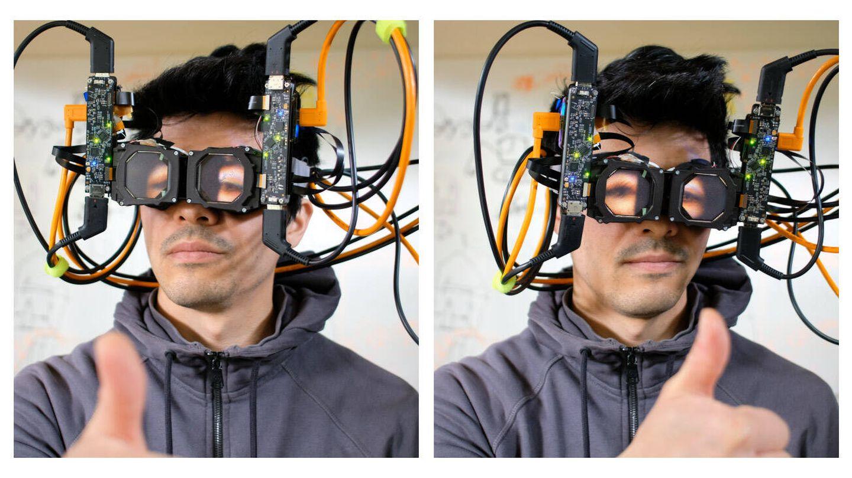 La corrección óptica de la proyección ocular (Facebook)
