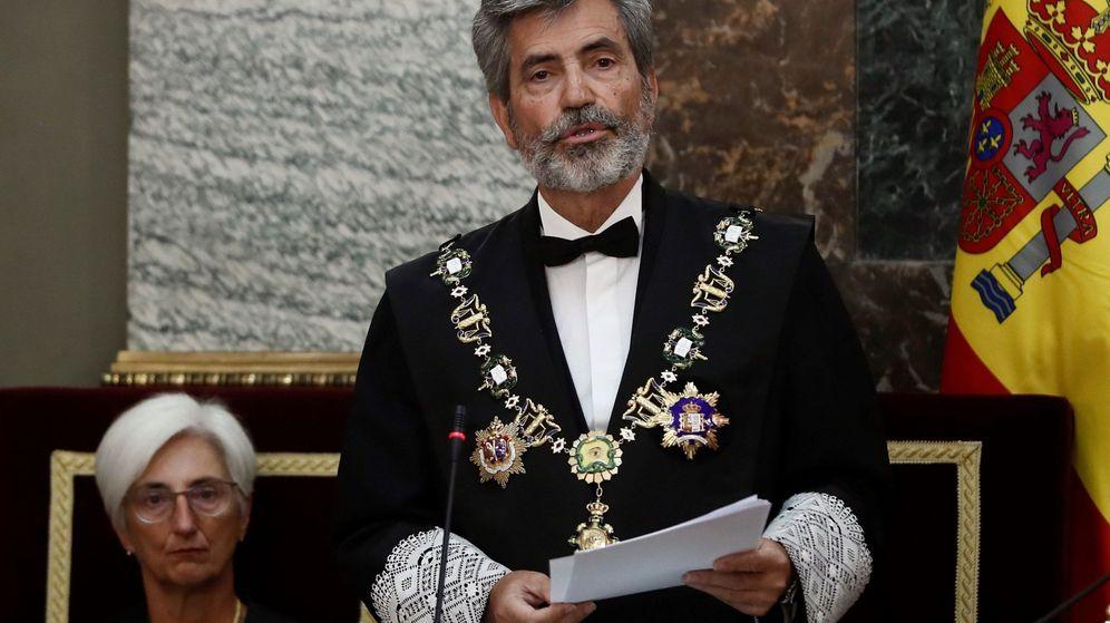 Foto: El presidente del Consejo General del Poder Judicial (CGPJ), Carlos Lesmes. (EFE)