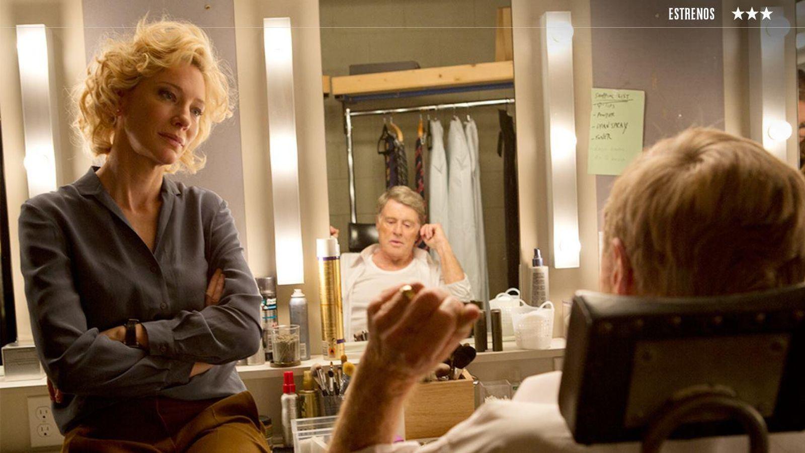 Foto: Cate Blanchett y Robert Redford en 'La verdad'