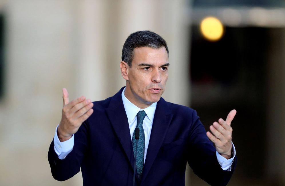 Foto: Pedro Sánchez, el pasado 14 de junio en La Valeta, Malta, en la cumbre MED7 de países del sur de Europa. (EFE)