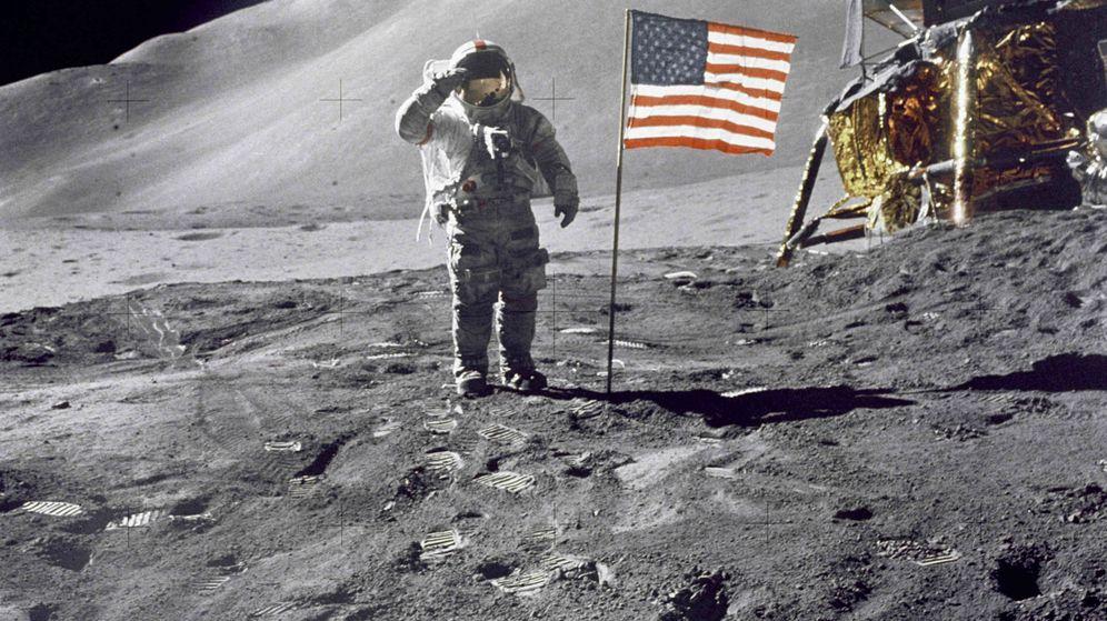 Foto: Misión del Apollo 15. (Wikimedia Commons)