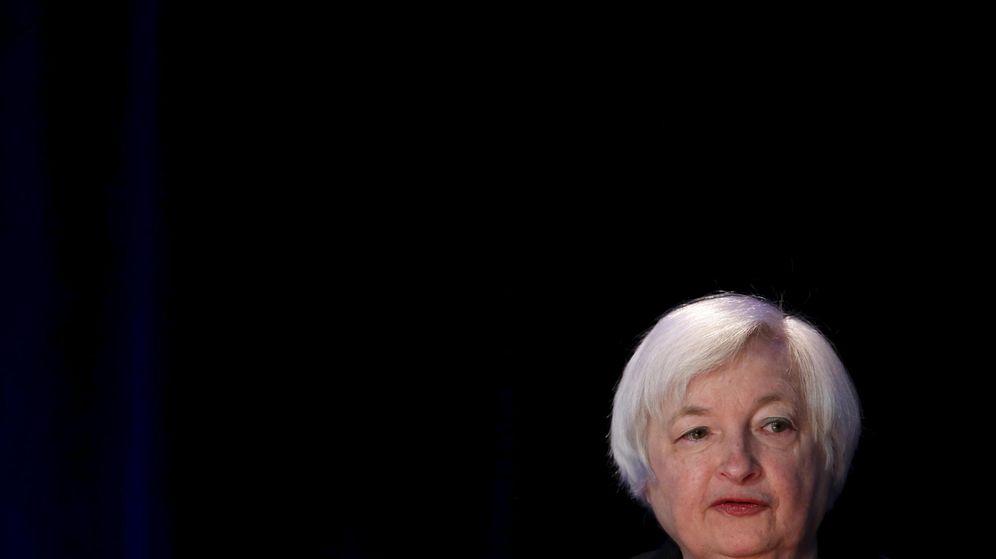 Foto: La presidenta de la Reserva Federal, Janet Yellen