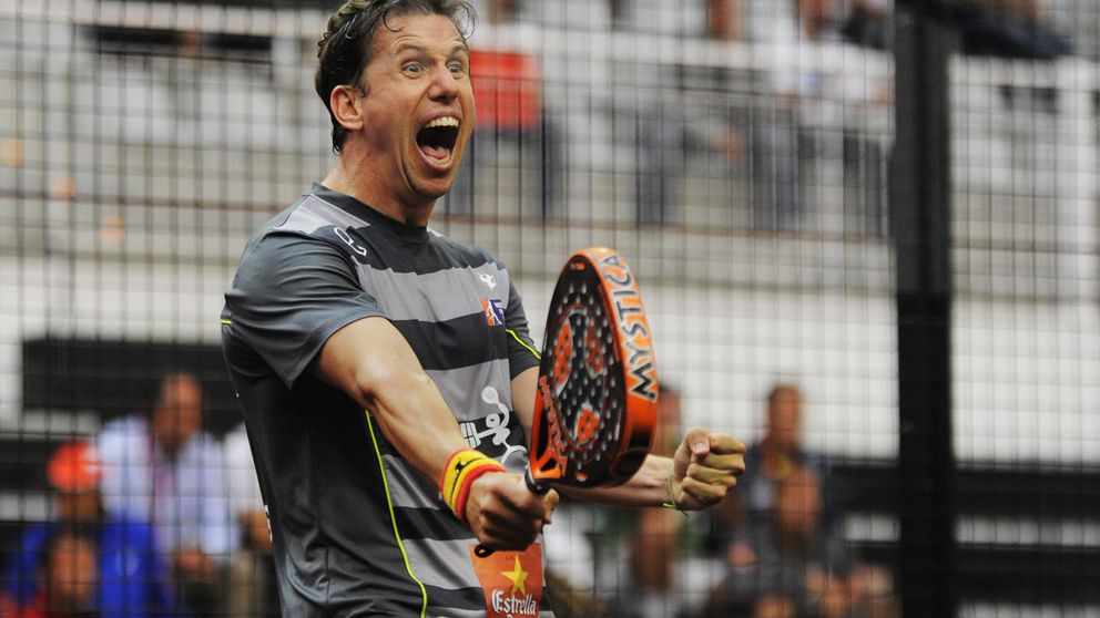 Así es Paquito Navarro, el mejor jugador español de pádel