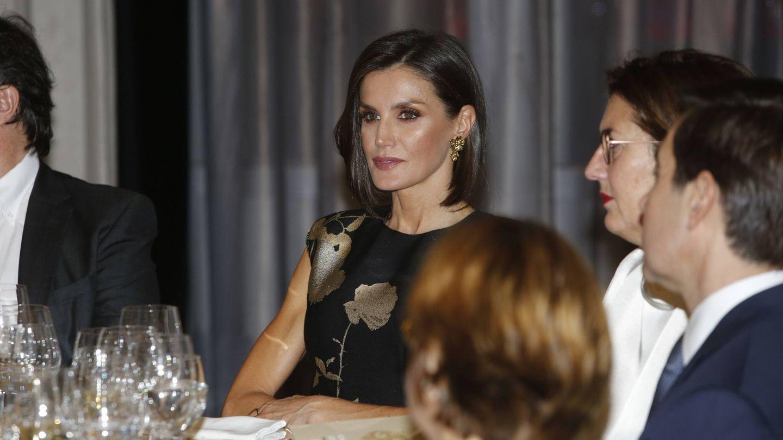 La Reina, durante el Premio Francisco Cerecedo de periodismo. (Cordon Press)