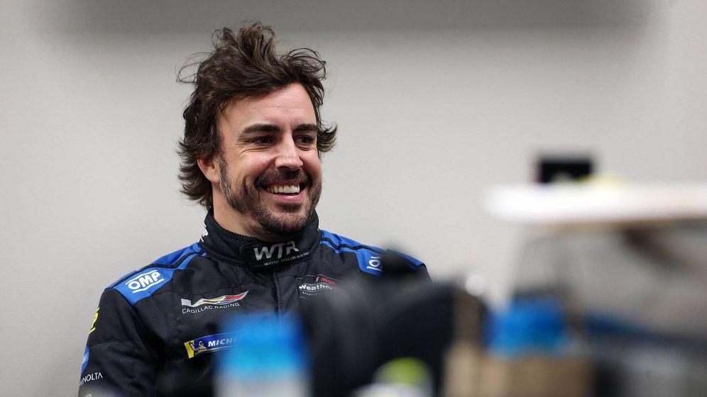 Foto: Fernando Alonso participa por segunda vez en las 24 Horas de Daytona. (Imago)