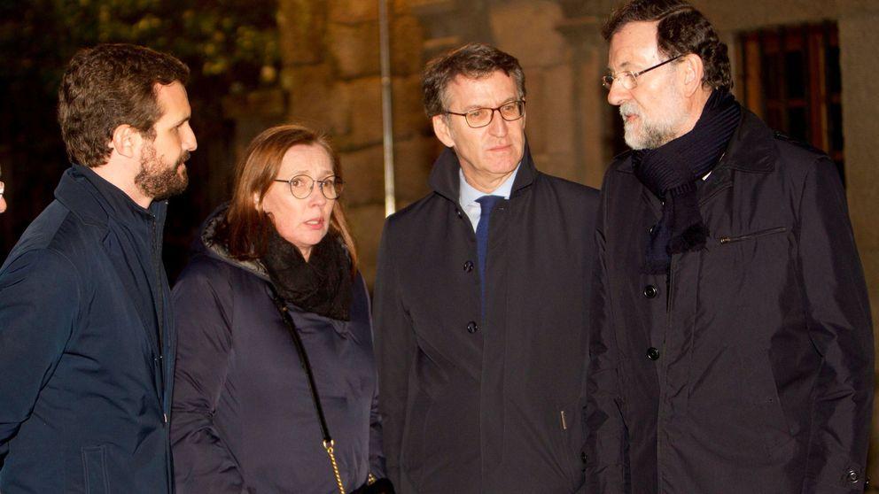 Feijóo cierra su 'semana grande' como el puente del PP entre Rajoy y Casado
