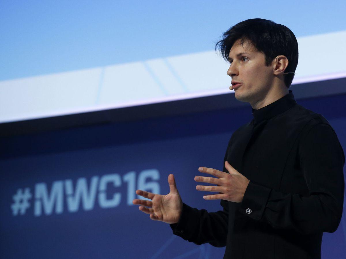 Foto: Pavel Durov, fundador de Telegram. (Reuters)
