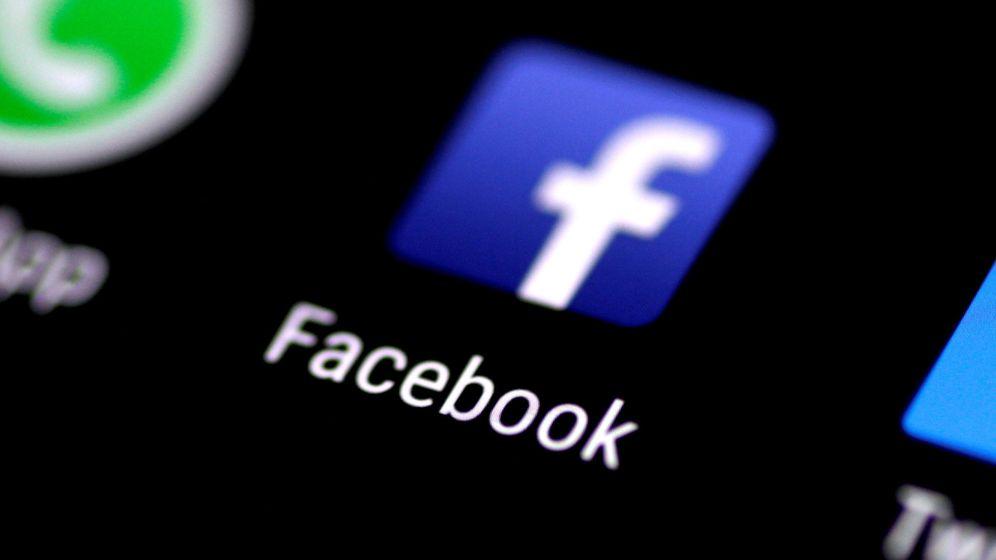 Foto: Logo de la aplicación móvil de Facebook