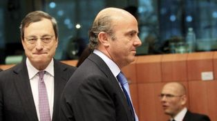 """El BCE a Guindos: """"¿Hueles eso? Son billetes de cincuenta cayendo del cielo"""""""
