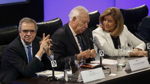 Margallo saca el escudo para defender a la Marca España ante las tensiones en Cataluña