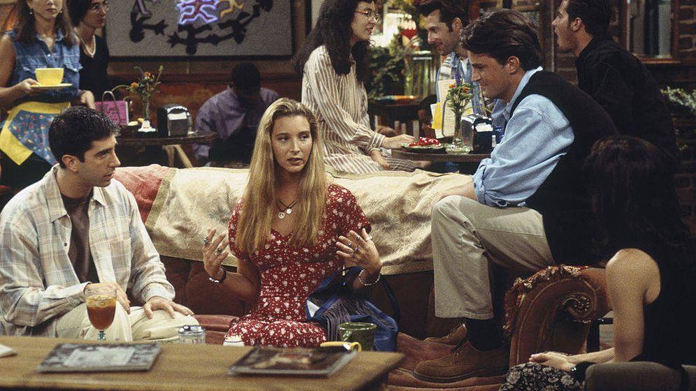 Foto: Una escena de la primera temporada de 'Friends'. (Getty)