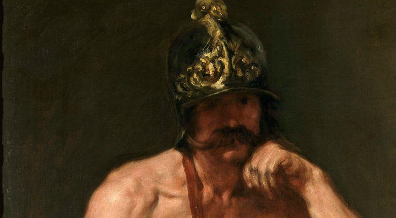 Foto: El dios Marte, de Velázquez, incluida en la exposición que viajó al museo australiano.