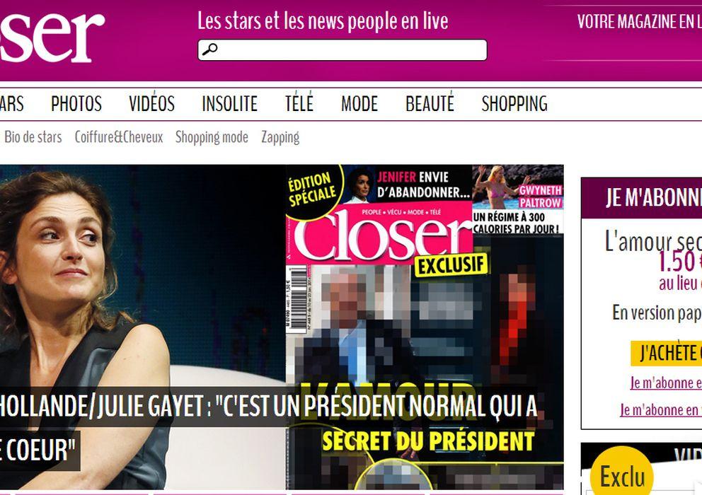 Foto: Actual portada digital de la revista 'Closer'