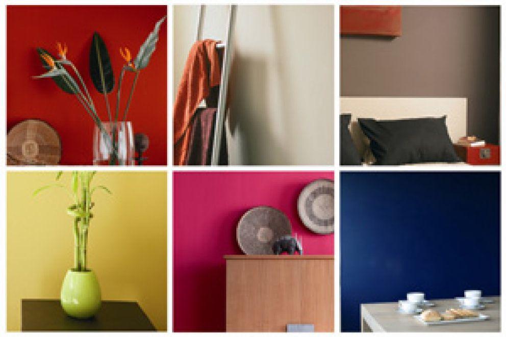 60 30 10 la proporci n ideal para combinar el color de - Combinar color granate paredes ...