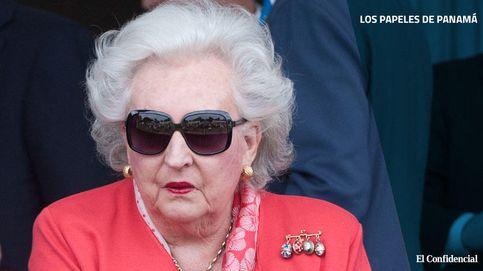 La infanta Pilar de Borbón mantuvo una sociedad opaca en Panamá los últimos 40 años