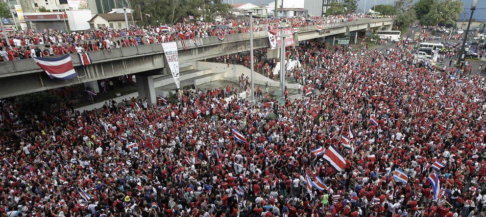 Costa Rica aprovecha el Mundial para exportar la 'pura vida' al mundo entero