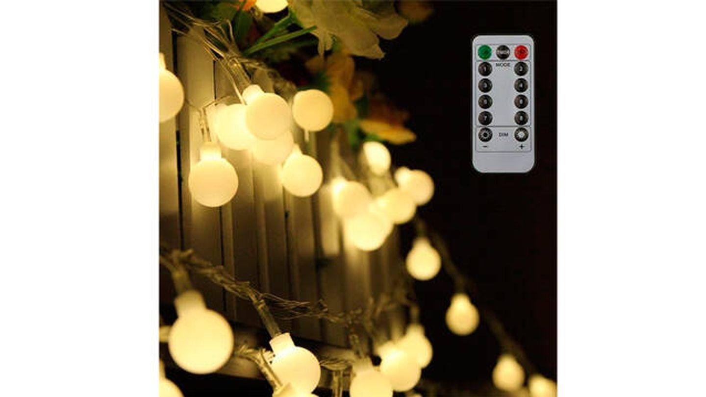 Luces LED Tomshine con control remoto