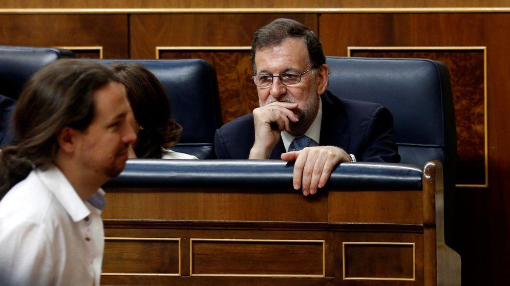 Foto: El presidente del Gobierno, Mariano Rajoy, y el líder de Podemos, Pablo Iglesias. (Reuters)
