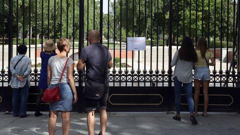 Madrid cierra el Retiro y varios parques por previsión de fuertes rachas de viento