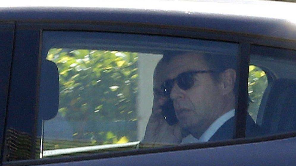 Foto: El exministro José Manuel Soria abandona en coche el Juzgado de Instrucción número 6 de Las Palmas de Gran Canaria. (EFE)