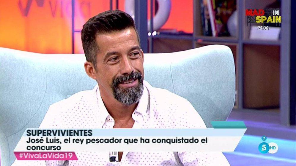 Foto: José Luis ('Supervivientes') revela su dura infancia en 'Viva la vida'.
