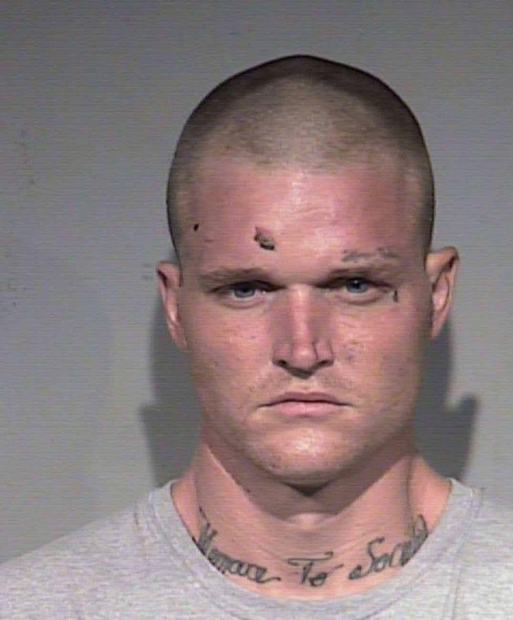 Foto: Leonard Smith, detenido por la policía. Foto: Departamento de Policía de Phoenix