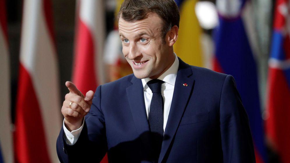 Foto: Presidente Macron en la cumbre de esta semana. (EFE)