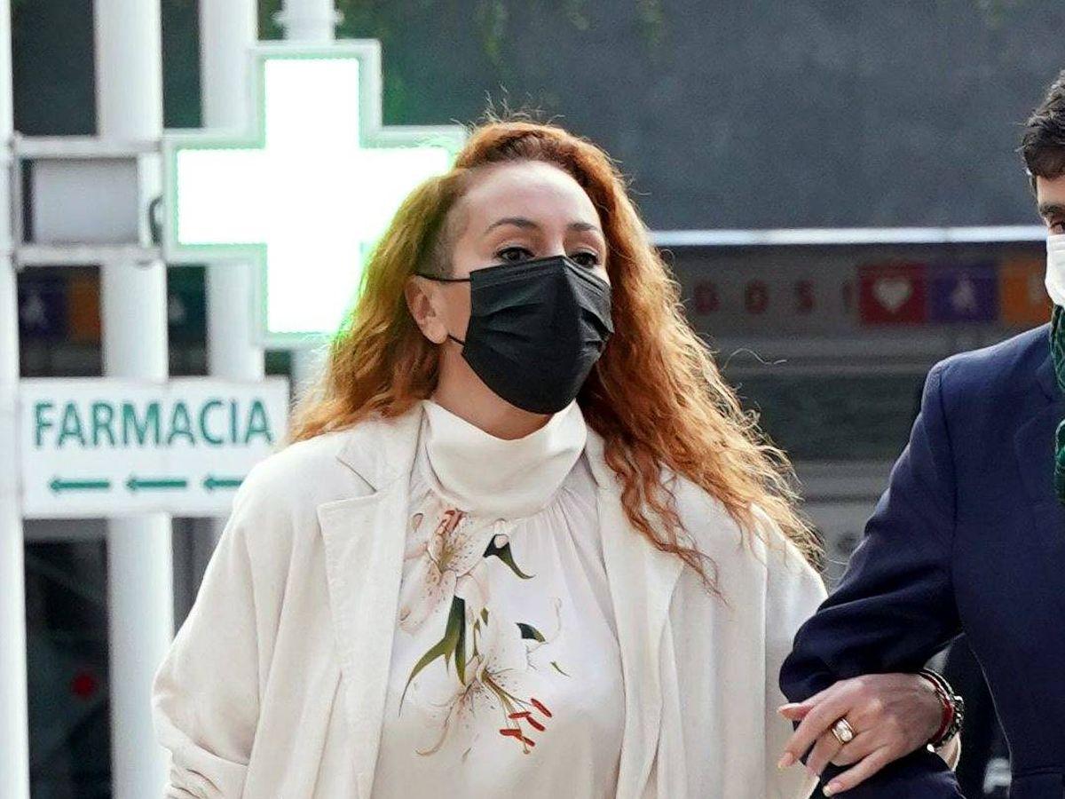 Foto: Rocio Carrasco llega a los juzgados de Alcobendas. (CP)