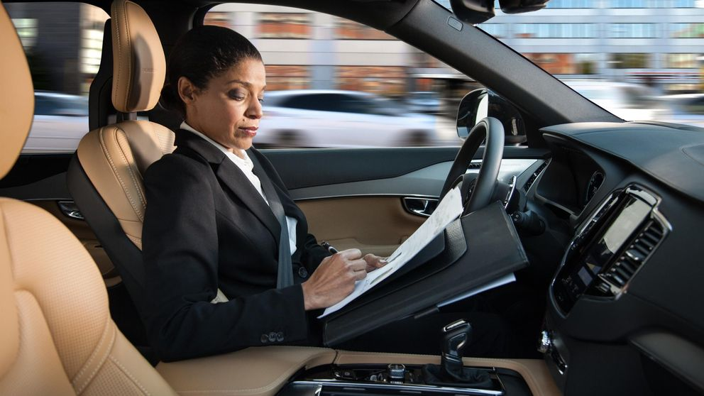 Cómo se gestionará la conducción autónoma en un vehículo Volvo