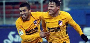 Post de El Atlético da un paso atrás y acaba pidiendo la hora ante el Eibar