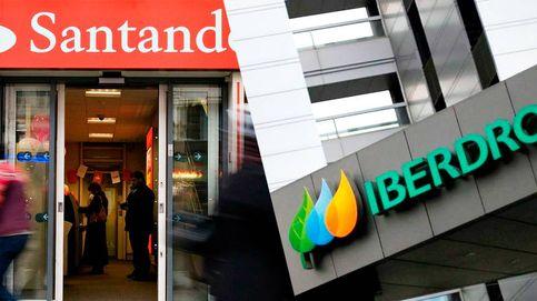 Iberdrola supera al Santander en el Ibex: los valores cíclicos ceden paso a los defensivos