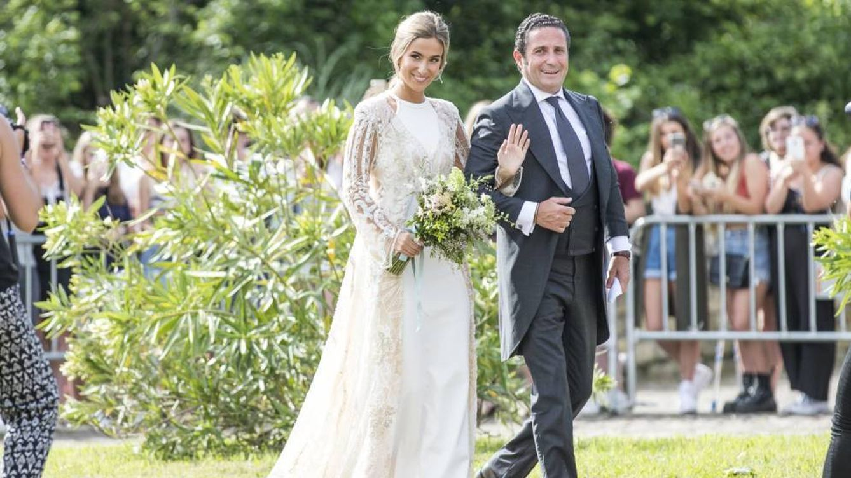 Éxitos y fracasos de estilo de la boda de María Pombo
