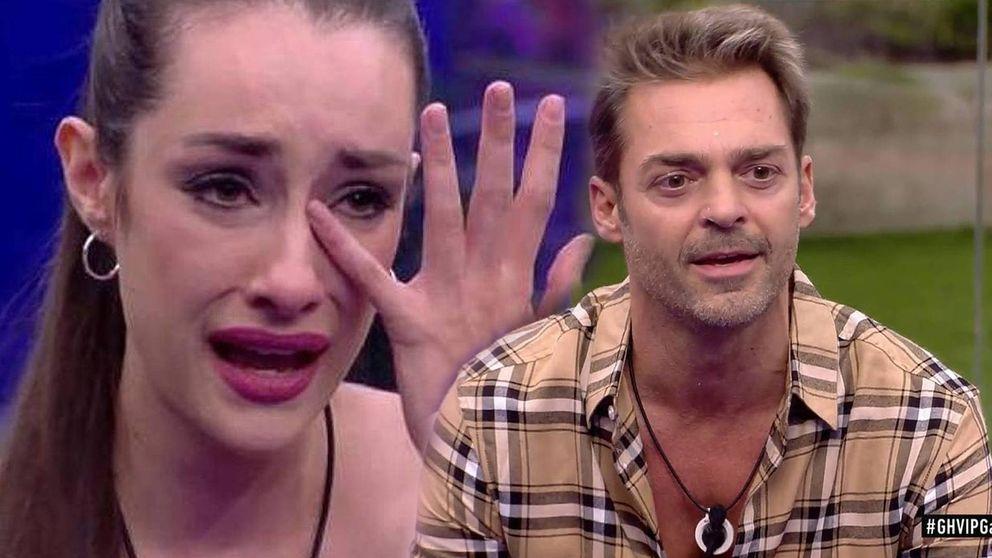 Hugo desquicia a Adara hasta hacerla llorar: No voy a entrar en tu juego