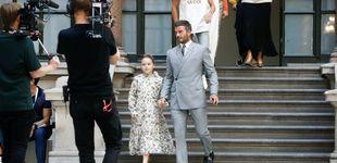 Post de La estrella de la pasarela de Londres es una niña de ocho años, Harper Beckham