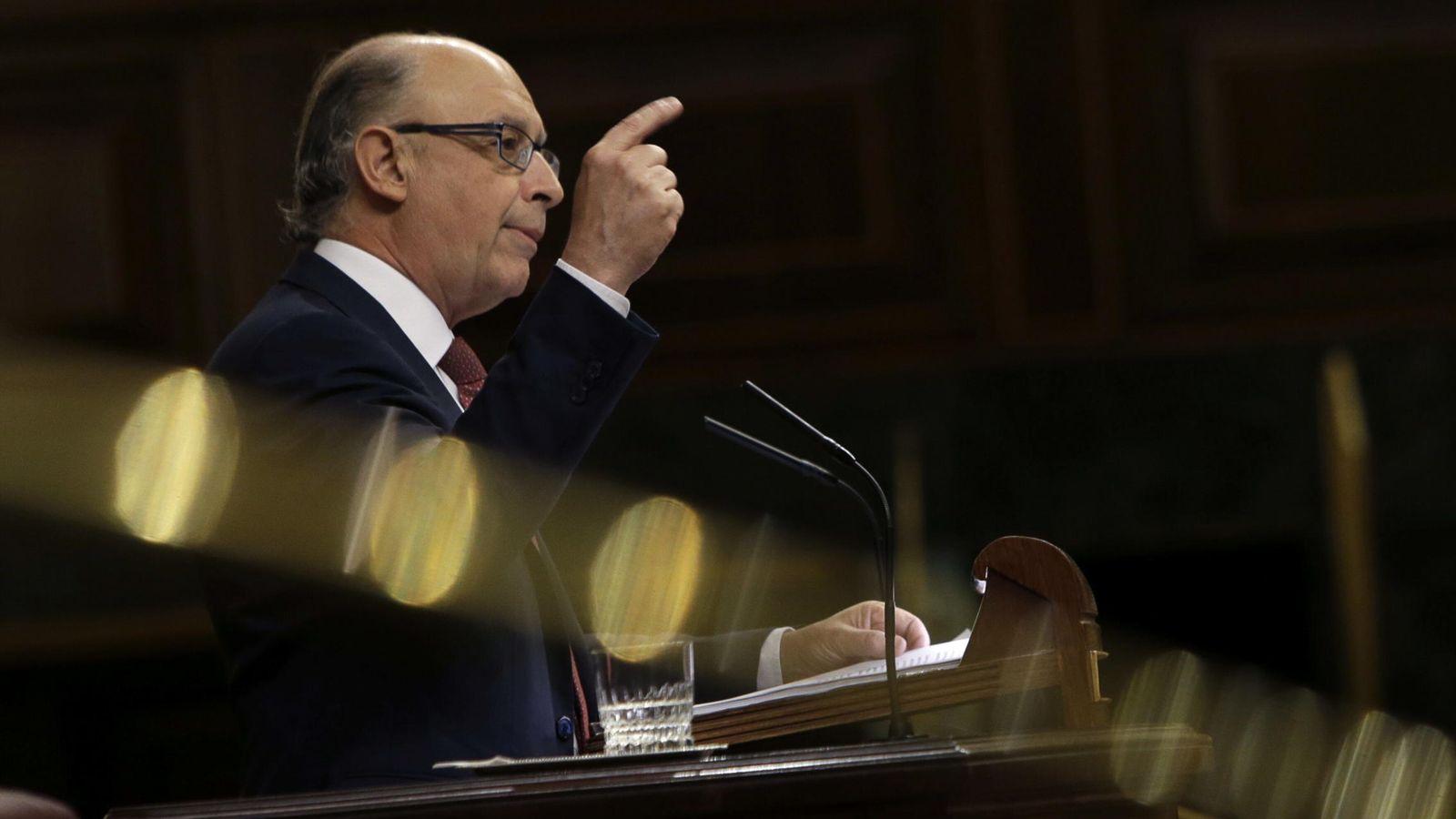 Foto: El ministro de Hacienda, Cristóbal Montoro / EFE