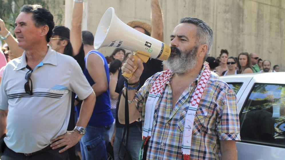 Foto: El diputado de IULV-CA y alcalde de Marinaleda (Sevilla), Juan Manuel Sánchez Gordillo. (EFE)