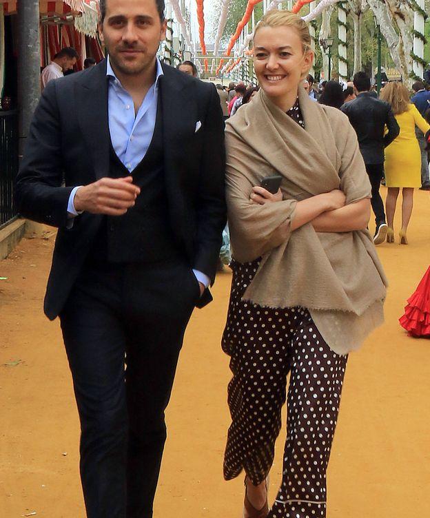 Foto: Marta Ortega y Torretta pasean por el Real de la Feria. (Gtres)
