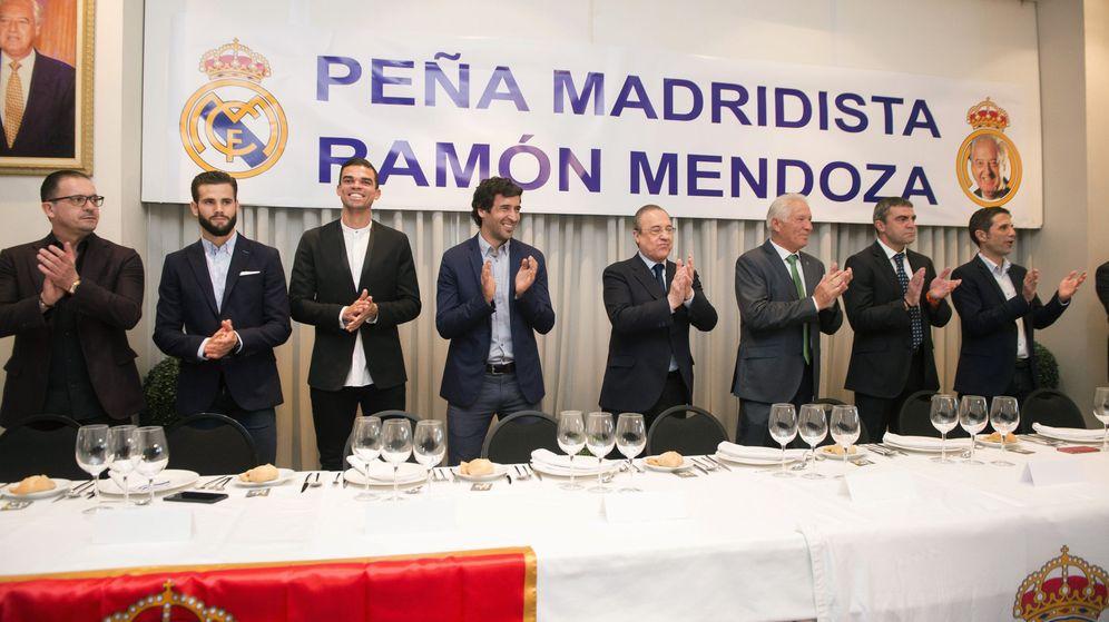 Foto: Raúl trabaja desde hace unos meses en el Real Madrid. (EFE)