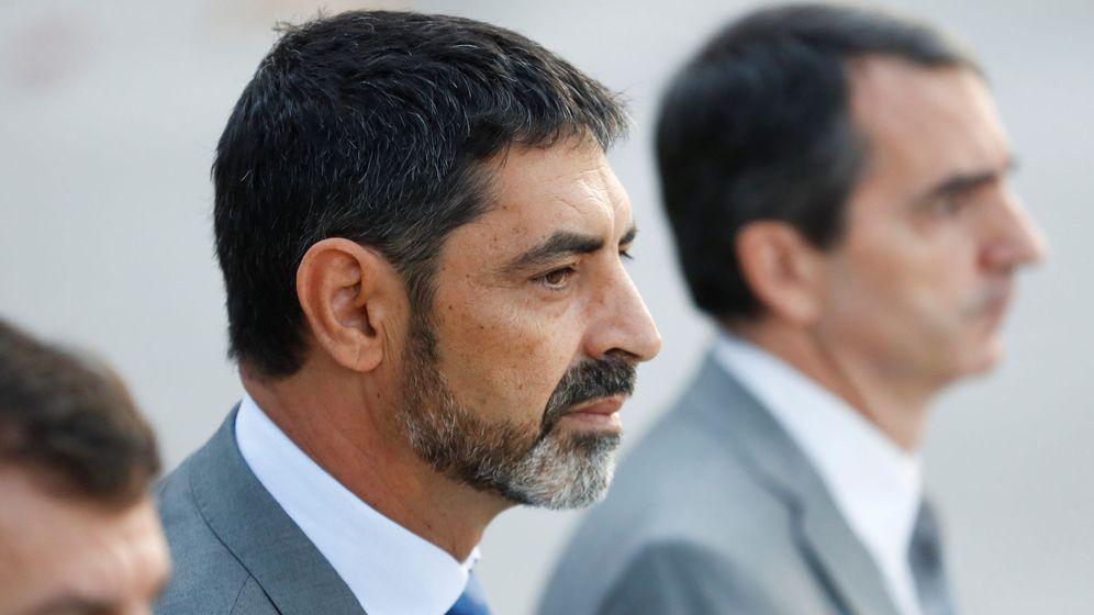 Foto: Josep Lluís Trapero declara por segunda vez en la Audiencia Nacional. (EFE)