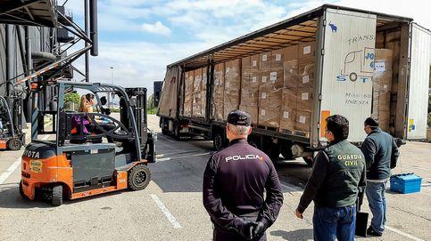 La CAM ya ha gestionado la llegada de 1.610 toneladas de material sanitario desde China