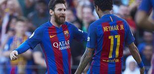 Post de Neymar se cansó de decir que Messi es el mejor del mundo