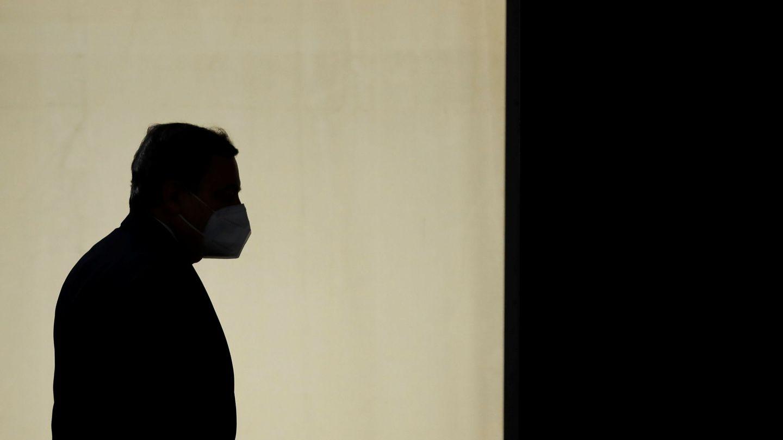 Mario Draghi, primer ministro italiano, en Oporto. (Reuters)