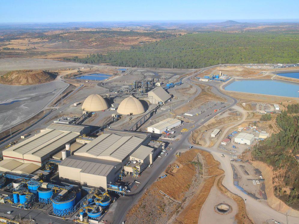 Foto: Planta minera en la sierra de Huelva. (Matsa)