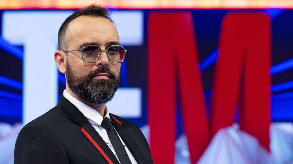 Foto: El presentador Risto Mejide. (Mediaset)