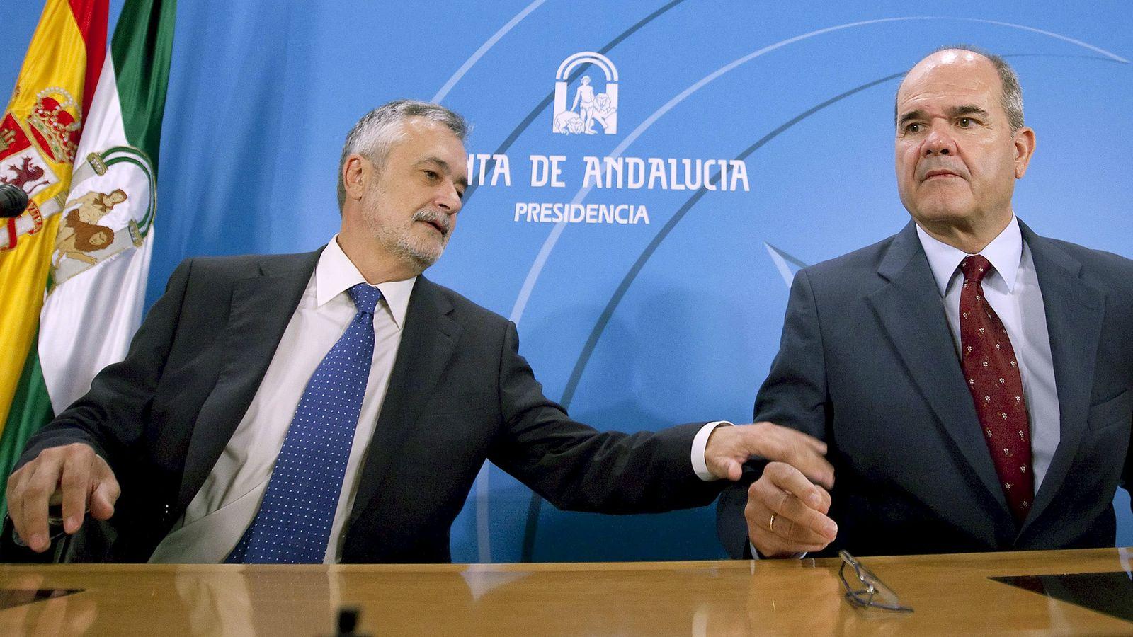 Foto: José Antonio Griñán y Manuel Chaves (EFE)